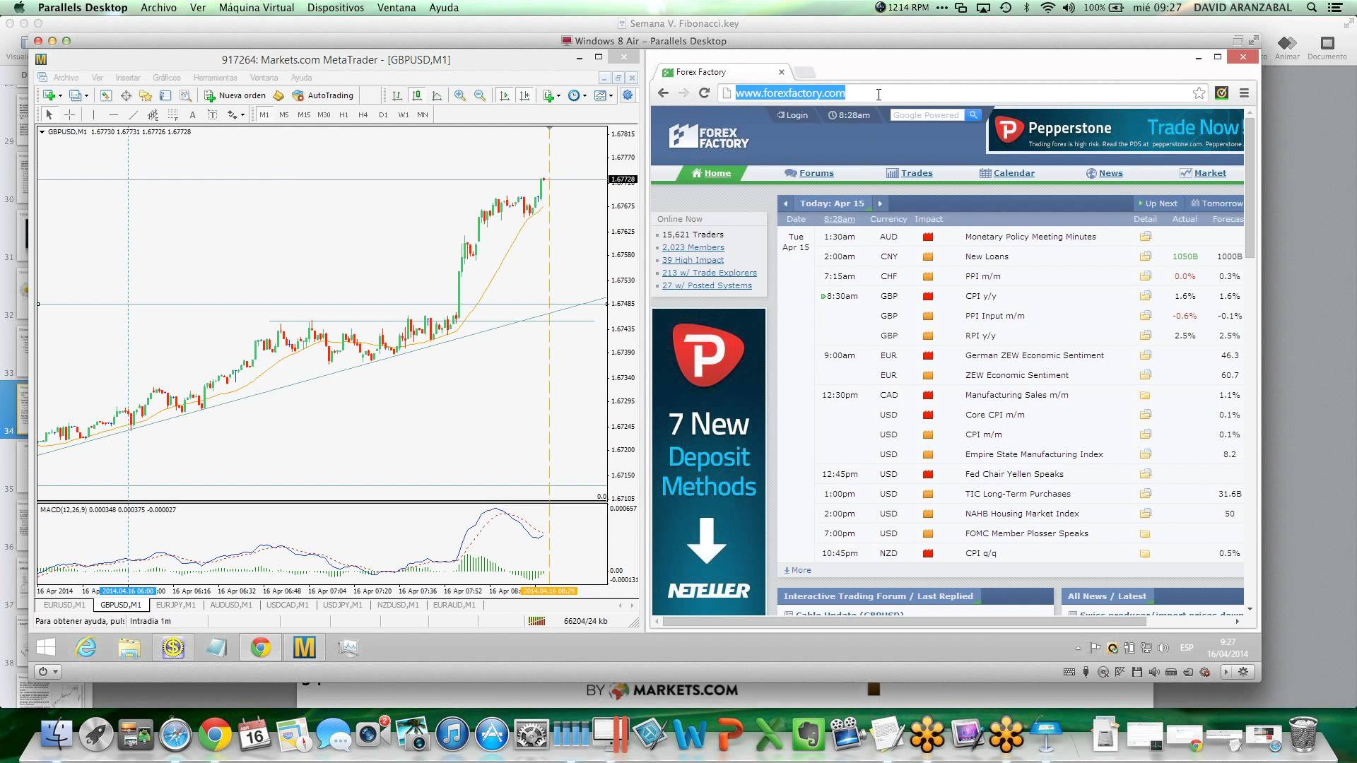 1m forex trading