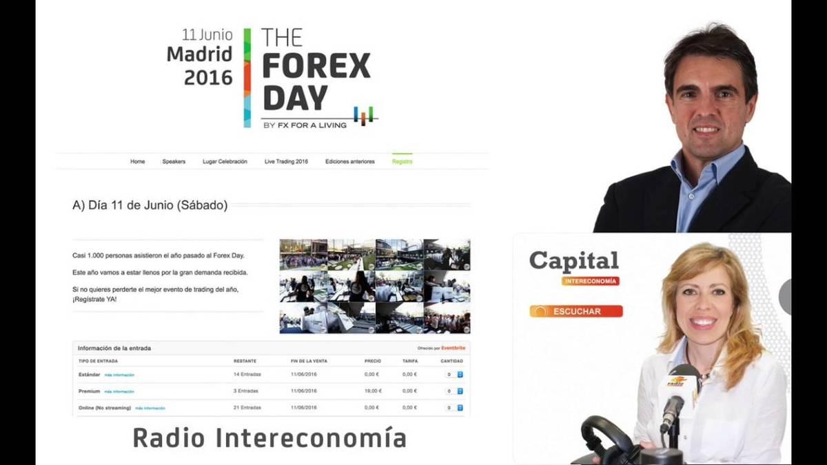 David Aranzabal entrevistado en Radio Intereconomia sobre el Forexday