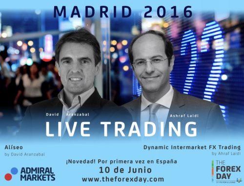 Webinar gratuito Presentación Live Trading Forex Day