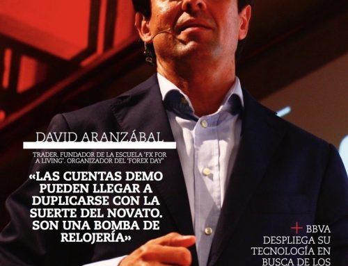 David Aranzabal portada este mes en la revista Inversión. Zona de Trading